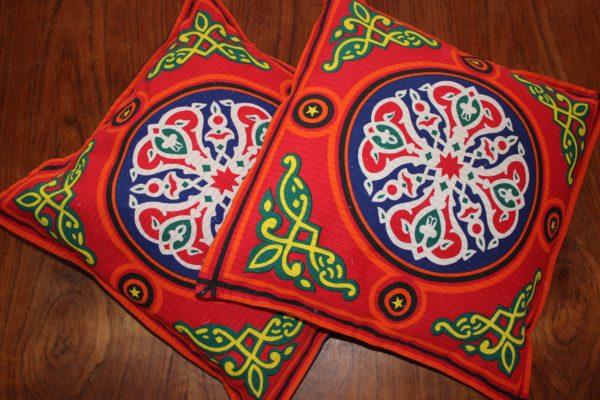 Egyptian Multi-Colour Kissenbezüge Bohostyle