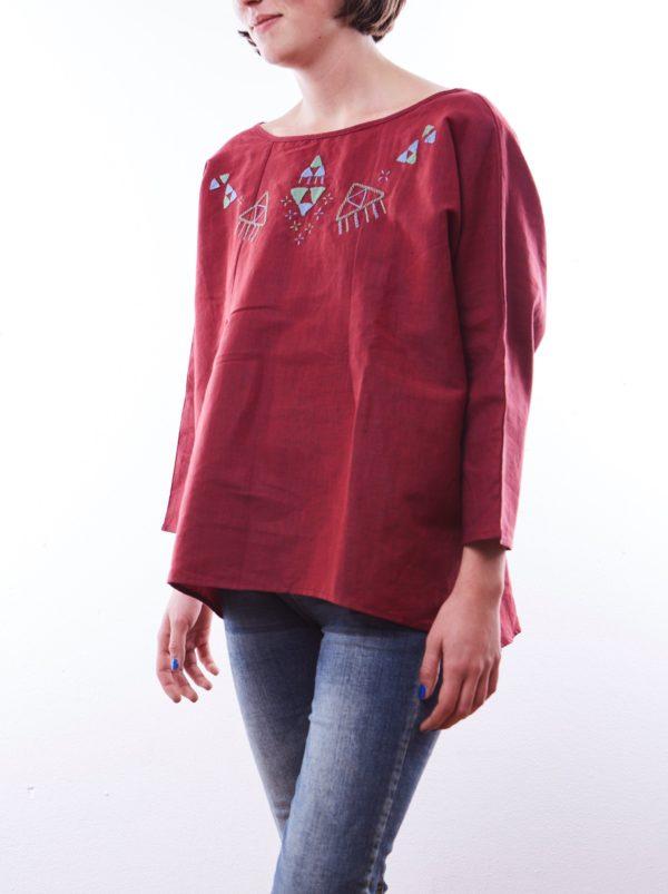 """Baggy Shirt """"Feluken"""" aus Kairo, Ägypten"""