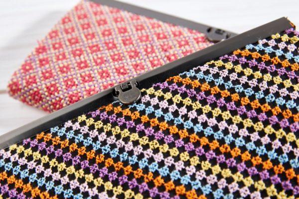 Portemonnaie oder auch Mini-clutch Girly und Rainbow aus dem Libanon