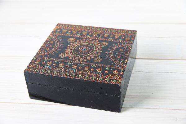 Teebeutel Box oder Schmuckkasten Zakhroof aus Syrien
